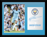 Manchester City - Sterling 16/17 Collector-tryk