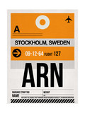 ARN Stockholm Luggage Tag I Posters by  NaxArt