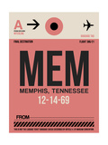 MEM Memphis Luggage Tag II Art by  NaxArt
