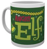 Elf - Angry Elf - Christmas Mug Mug