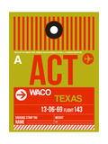 ACT Waco Luggage Tag I Posters by  NaxArt