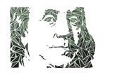 Benjamin Franklin Kunst af Cristian Mielu