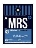 MRS Marseille Luggage Tag II Prints by  NaxArt