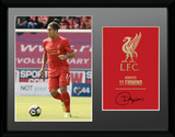Liverpool - Firmino 16/17 Collector-tryk