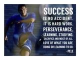 Success is No Accident Print van  Sports Mania