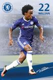 Chelsea F.C.- Willian 16/17 Plakater