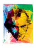 Jack Geometrized Kunstdruck