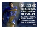 Success is No Accident Poster by  Sports Mania