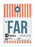 FAR Fargo Luggage Tag II Prints by  NaxArt
