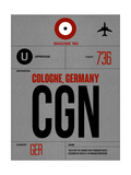 CGN Cologne Luggage Tag I Poster by  NaxArt