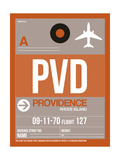 PVD Providence Luggage Tag II Art by  NaxArt