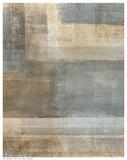 Beige Abstract Plakat af C. Tice