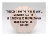 Prepare to Win Print by  Sports Mania