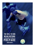 The Will to Win Art by  Sports Mania