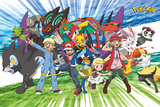 Pokemon- Travelling Party Plakater