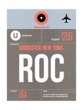 ROC Rochester Luggage Tag II Prints by  NaxArt