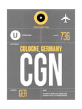 CGN Cologne Luggage Tag II Prints by  NaxArt