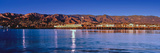 City and Pier at Waterfront, Santa Barbara, California, USA Photographic Print by  Panoramic Images
