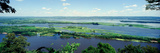 River Flowing Through a Landscape, Mississippi River, La Crescent, Minnesota, USA Photographic Print by  Panoramic Images