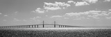 Bridge across a Bay, Sunshine Skyway Bridge, Tampa Bay, Florida, USA Photographic Print by  Panoramic Images