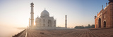 Taj Mahal at Dawn, Agra, Uttar Pradesh, India Photographic Print by  Panoramic Images