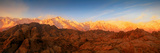 Scenic View of Mountains, Mount Whitney, Lone Pine Peak, Sierra Nevada, California, USA Photographic Print by  Panoramic Images