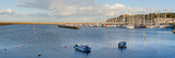 Boats at a Harbor, Howth, Dublin Bay, Dublin, Leinster Province, Republic of Ireland Photographic Print by  Panoramic Images