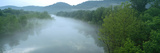 River with Mountains in the Background, Ozark Mountains, Arkansas, USA Photographic Print by  Panoramic Images
