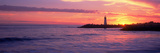 Lighthouse on the Coast at Dusk, Walton Lighthouse, Santa Cruz, California, USA Stampa fotografica di Panoramic Images,