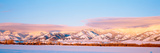 Snow Covered Mountains, Bridger Mountains, Rocky Mountains, Bozeman, Gallatin County, Montana, USA Photographic Print by  Panoramic Images