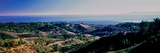 Elevated View of City at Coast, Santa Barbara, California, USA Photographic Print by  Panoramic Images