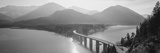 Bridge over Sylvenstein Lake, Bavaria, Germany Photographic Print by  Panoramic Images