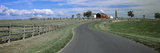 Road at Gettysburg National Military Park, Gettysburg, Pennsylvania, USA Photographic Print by  Panoramic Images