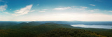 Elevated View of the Mount Beacon and Breakneck Ridge, Hudson River, New York State, USA Photographic Print by  Panoramic Images