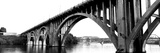 Bridge across River, Henley Street Bridge, Tennessee River, Knoxville, Knox County, Tennessee, USA Photographic Print by  Panoramic Images