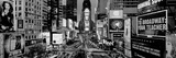 High Angle View of Traffic on a Road, Times Square, Manhattan, New York City, New York State, USA Fotografie-Druck von  Panoramic Images