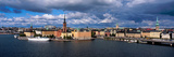 High Angle View of Cityscape at the Waterfront, Stockholm, Sweden Fotografisk tryk af Panoramic Images,