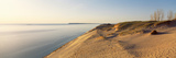 Sand Dunes at the Lakeside, Sleeping Bear Dunes National Lakeshore, Lake Michigan, Michigan, USA Photographic Print by  Panoramic Images