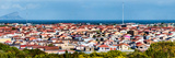 Elevated View of Houses in a City, Cape Flats, Cape Town, Western Cape Province, South Africa Photographic Print by  Panoramic Images