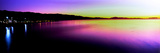 View of the Coast at Sunset, Santa Barbara, California, USA Photographic Print by  Panoramic Images