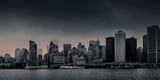 Skylines at the Waterfront, New York City, New York State, USA Photographic Print by  Panoramic Images
