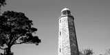Low Angle View of a Lighthouse, Cape Henry Lighthouse, Cape Henry, Virginia Beach, Virginia, USA Photographic Print by  Panoramic Images