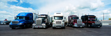 Eighteen Wheeler Vehicles on the Road Photographic Print by  Panoramic Images