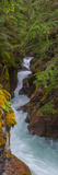Elevated View of a Creek, Mcdonald Creek, Us Glacier National Park, Montana, USA Photographic Print by  Panoramic Images