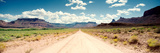 Dirt Road Passing Through a Landscape, Onion Creek, Moab, Utah, USA Photographic Print by  Panoramic Images