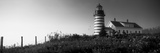 Low Angle View of a Lighthouse, West Quoddy Head Lighthouse, Lubec, Washington County, Maine, USA Photographic Print by  Panoramic Images