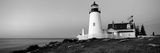 Lighthouse on the Coast, Pemaquid Point Lighthouse Built 1827, Bristol, Lincoln County, Maine, USA Photographic Print by  Panoramic Images