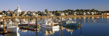 Boats at a Harbor, Provincetown, Cape Cod, Barnstable County, Massachusetts, USA Photographic Print by  Panoramic Images