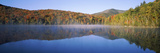 Autumn Trees Reflected in Heart Lake, Adirondack State Park, New York State, USA Photographic Print by  Panoramic Images