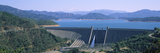 Dam on a Lake, Shasta Dam, Shasta Lake, Redding, Shasta County, California, USA Photographic Print by  Panoramic Images